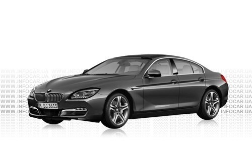 Цвета 6 Series Gran Coupe (F06)